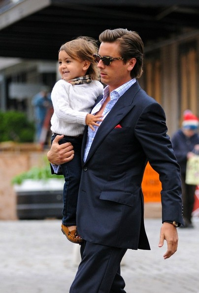 Mason Disick Disick Carries Mason in Nyc in
