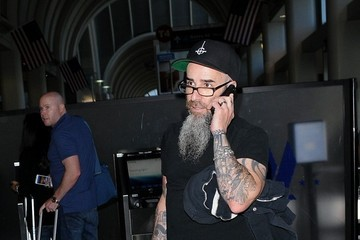 Scott Ian Scott Ian Arrives at LAX