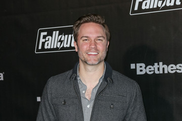 Scott Porter Celebrities Arrive at the 'Fallout 4' Launch Party