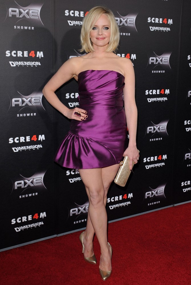 "Marley Shelton Photos Photos - ""Scream 4"" World Premiere ..."