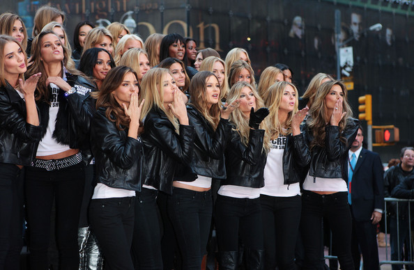 Victoria's Secret Angels in Times Square