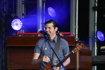 Seth Avett The Avett Brothers at 'Jimmy Kimmel Live'