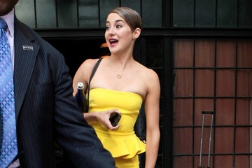 Shailene Woodley Shailene Woodley Heads Home