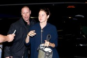 Shailene Woodley Arrives at LAX