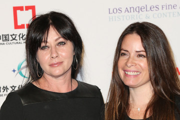 Shannen Doherty LA Art Show And Los Angeles Fine Art Show's 2016 Opening Night Premiere Party