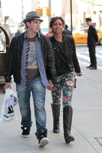 Sharon Leal and Paul Becker in SoHo