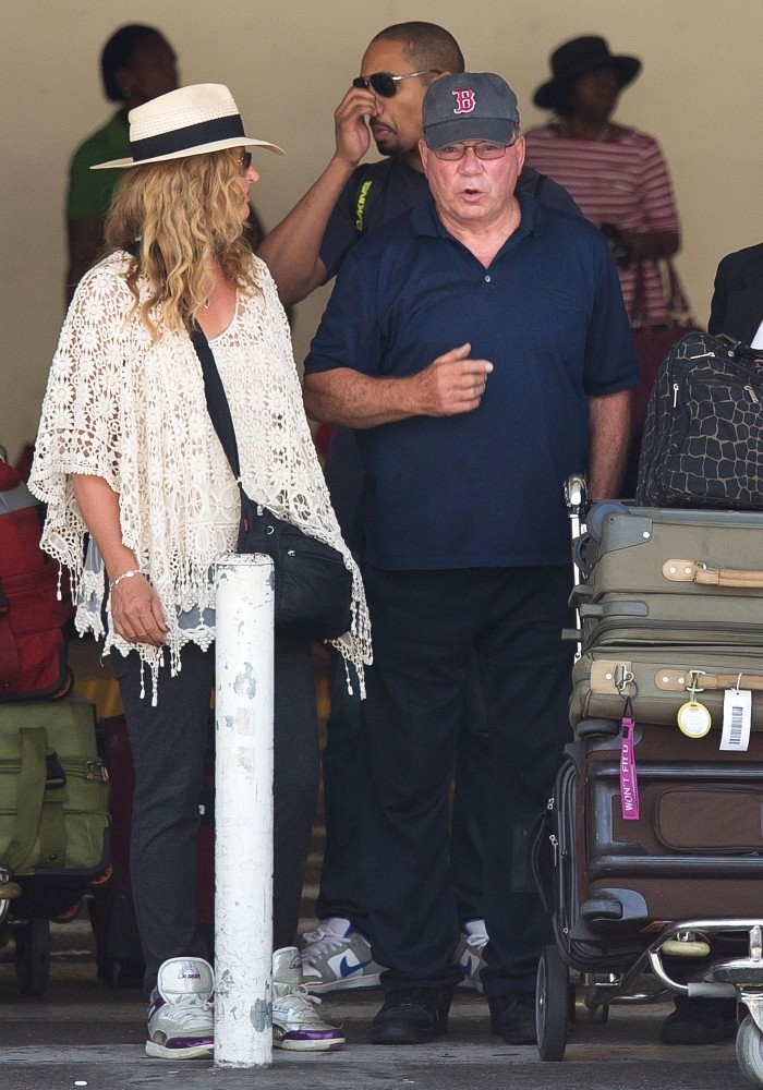 William Shatner Photos Photos - William Shatner and Family Arrive at ...
