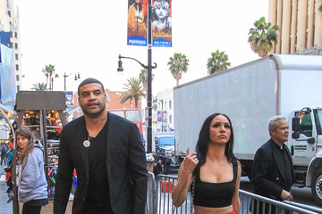 Shawne Merriman Scheana Shay Shawne Merriman and Scheana Shay Outside TCL Chinese Theatre