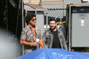 Shay Mooney Dan Smyers At 'Jimmy Kimmel Live'