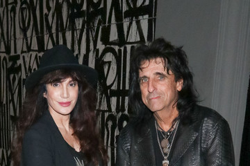 Sheryl Goddard Alice Cooper Is Seen Outside Craig's Restaurant In West Hollywood