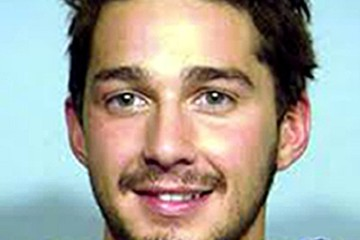Shia LaBeouf (FILE) Celebrity Mug Shots