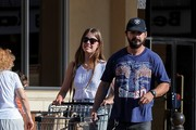 Shia LaBeouf and Mia Goth at the Store