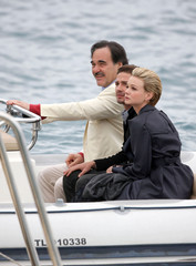 Oliver Stone Shia LaBeouf Carey Mulligan and Shia LaBeouf in Cannes 2