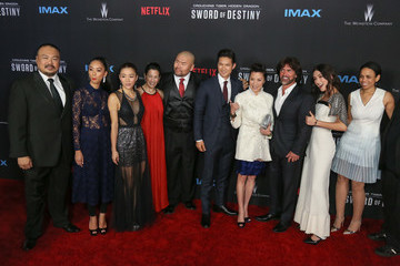 Shuya Chang Celebrities Attend the Premiere of Netflix's 'Crouching Tiger, Hidden Dragon: Sword Of Destiny'