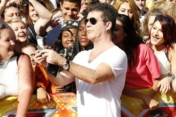 Simon Cowell 'The X Factor' London Auditions