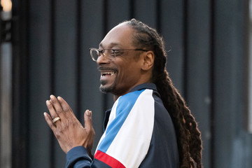 Snoop Dogg Snoop Dogg At 'Jimmy Kimmel Live'