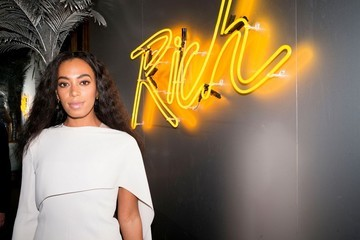 Solange Knowles Veuve Cliquot Rich List Launch Party