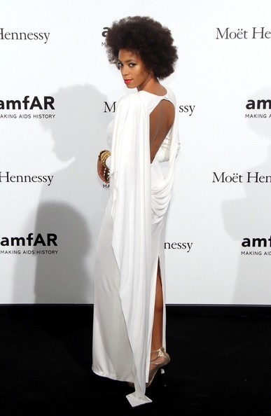 Solange Knowles - The 2012 amfAR Gala in Milan