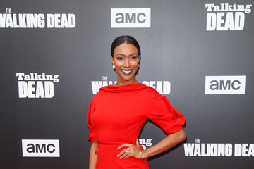 Sonequa Martin-Green 'Talking Dead Live' for the Premiere of 'The Walking Dead'