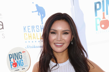 Soo Yeon Lee Clayton Kershaw's 4th Annual Ping Pong 4 Purpose Celebrity Tournament at Dodger Stadium
