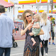 Stacy Keibler Stacy Keibler Shops At The Farmer's Market