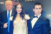 Donald Trump Olivia Culpo Photos Photo