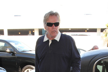 Steffanie Sampson Gary Busey and Steffanie Sampson Arrive at LAX