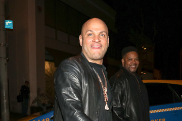 Stephen Belafonte Stephen Belafonte Outside Craig's Restaurant In West Hollywood