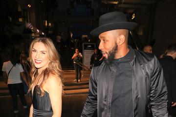 Stephen Boss Allison Holker Outside 'Black Panther' Premiere at Dolby Theatre