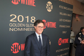 Stephen Colbert Showtime Golden Globe Nominees Celebration