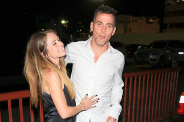 Steve-O Steve-O and Lux Wright Outside Avalon Nightclub in Hollywood
