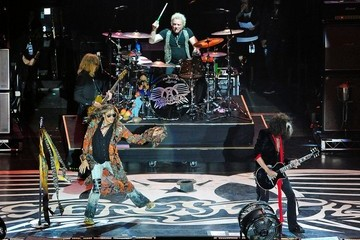 Steven Tyler Aerosmith Performs at the Stone Music Festival