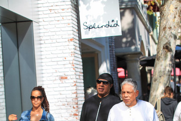 Stevie Wonder Stevie Wonder Is Seen Out in Los Angeles