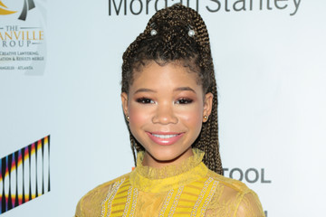 Storm Reid Laz Alonso Attends the 9th Annual AAFCA Awards