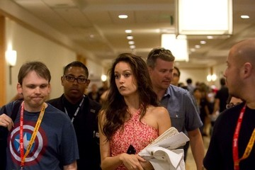 Summer Glau Summer Glau at Comic-Con