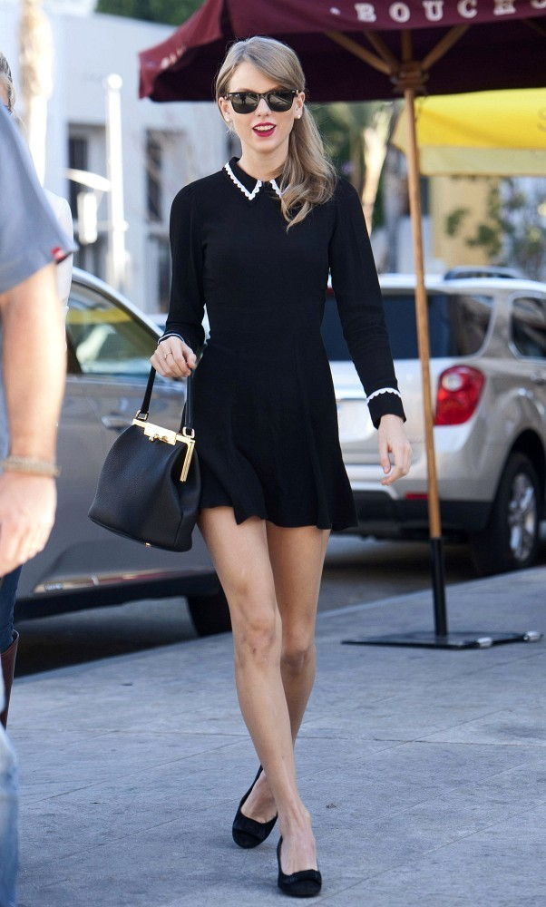 Swift and King lunch in Beverly Hills