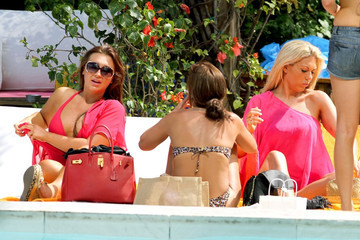 Jessica Wright Lauren Goodger 'The Only Way is Essex' Cast by the Pool