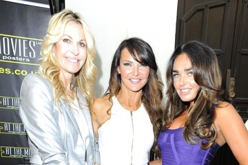 Tamara Ecclestone Lizzie Cundy Celebrities at the Movies Launch Party