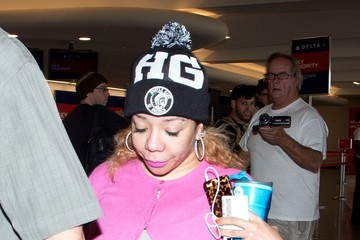 Tameka Cottle T.I. at LAX