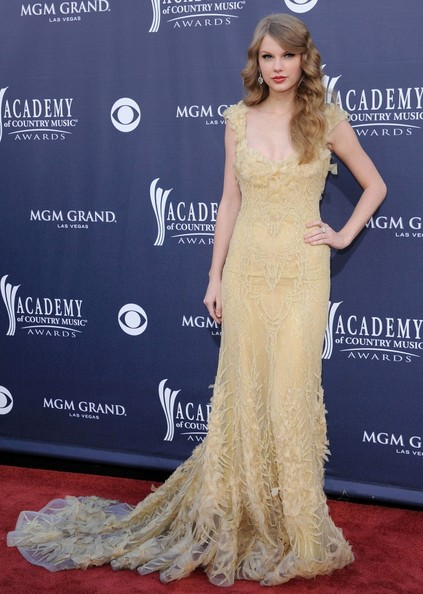 Taylor Swift 46th Annual Academy of Country Music Awards.MGM Grand, Las Vegas, Nevada.April 3, 2011.