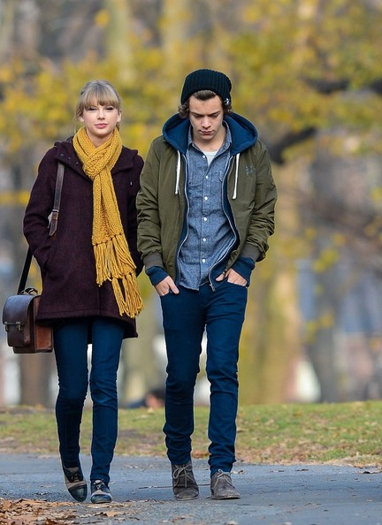 File: Harry Styles and Taylor Swift Pictures