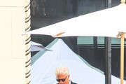 Ted Danson outside the Hollywood Walk Of Fame Star Ceremony for Seth MacFarlane