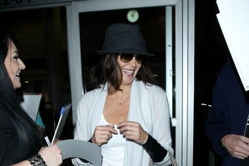 Teri Hatcher Teri Hatcher Arrives at LAX