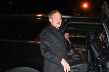 Terry Dubrow Terry Dubrow Enters Craig's Restaurant In West Hollywood