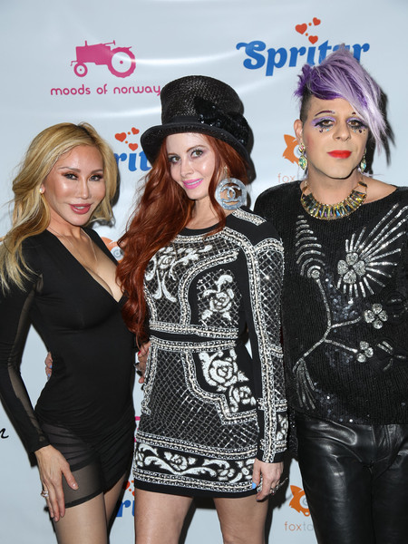 Celebrities Attend the Love Ball at Sofitel Hotel in Beverly Hills