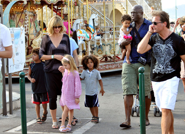 heidi klum and seal kids. Heidi Klum and Seal take their