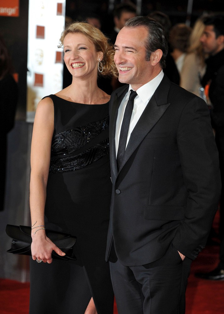 Jean dujardin in the 2012 bafta awards zimbio for Jean dujardin bafta