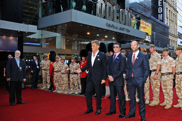 Sylvester Stallone Dolph Lundgren The Expendables Premiere