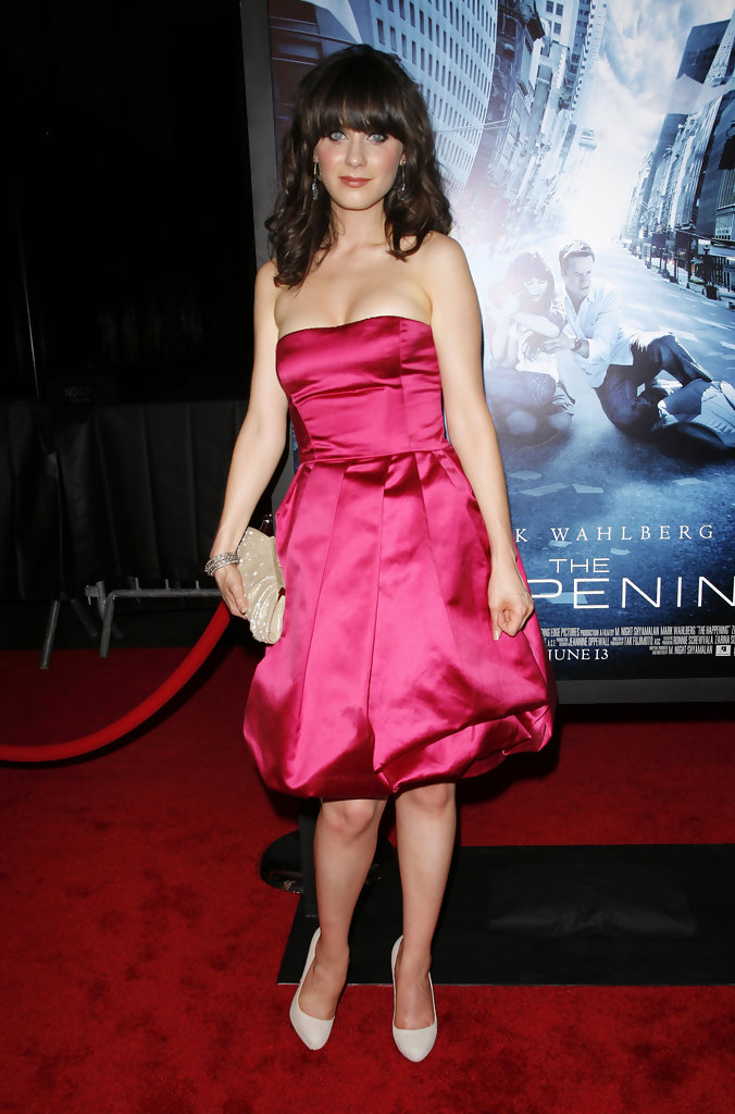 Zooey Deschanel Photos The Happening Premiere 4003