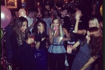 The Saturdays Celebrity Social Media Shots